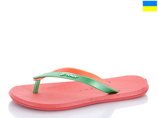 51357 розовый-зелено-оранжевый, 10 (36-40), <strong>85</strong>, лето