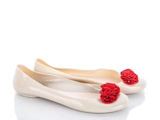 Балетка красный цветок, 12 (36-41), <strong>45</strong>, лето