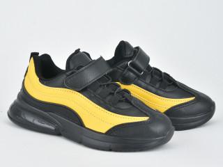 200-68K black-yellow, 8 (25-30), <strong>195</strong>, демисезон