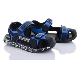 L9023 черно-синий, 6 (32-37), <strong>520</strong>, лето