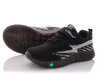 F907 black-grey LED, 6 (32-37), <strong>250</strong>, демисезон