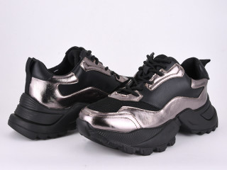 166-12 silver-black, 8 (36-41), <strong>400</strong>, демисезон