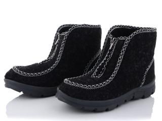 Каховка ботинок сукно женский на змейке, 7 (37-41), <strong>125</strong>, зима