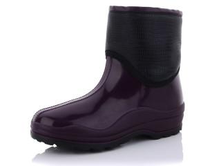 Ботинок флис фиолетовый, 10 (37-41), <strong>175</strong>, демисезон