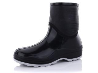 Ботинок флис черный, 10 (37-41), <strong>175</strong>, демисезон